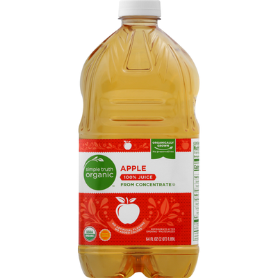 Simple Truth Organic 100% Juice, Organic, Apple