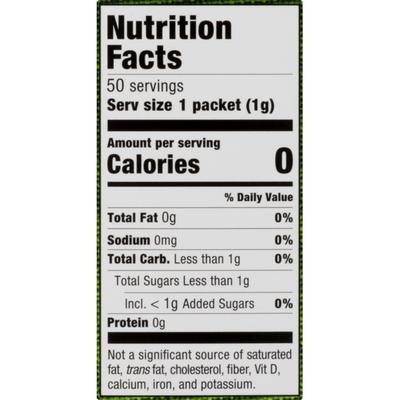 Stevia In The Raw Sweetener, Zero Calorie