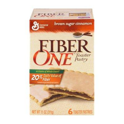 Big G General Mills Fiber One Brown Sugar Cinnamon Toaster Pastries