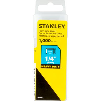 Stanley Staples, Heavy Duty, 1/4 Inch