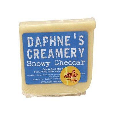 Daphne's Creamery Snowy Cheddar Cheese