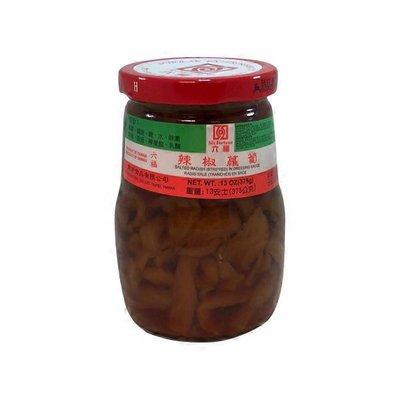 Six Fortune Salted Radish Strip With Chili