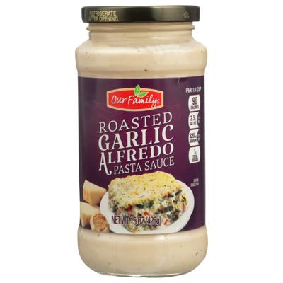 Our Family Roasted Garlic Alfredo Pasta Sauce