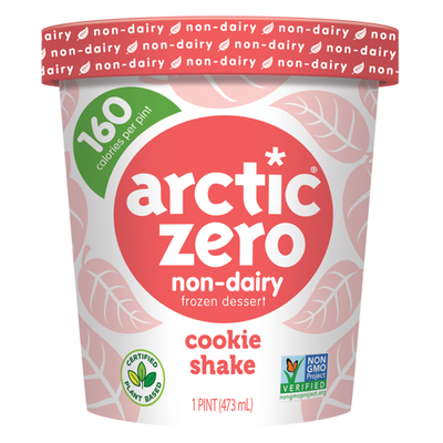 Arctic Zero Non-Dairy Frozen Desserts Cookie Shake