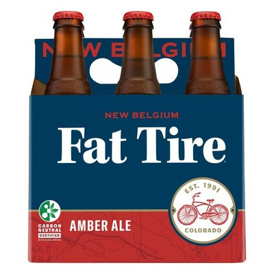 New Belgium Brewing Co. Fat Tire Amber Ale, Bottles