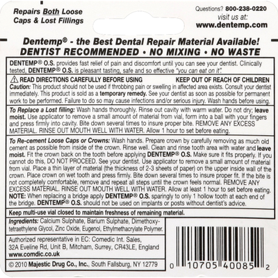 Dentemp Dental Repair, Maximum Strength
