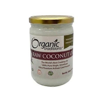 Organic Traditions Unrefined Extra Virgin Coconut Oil
