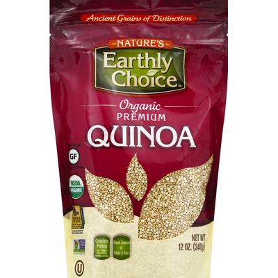 Nature's Earthly Choice Quinoa, Premium, Organic