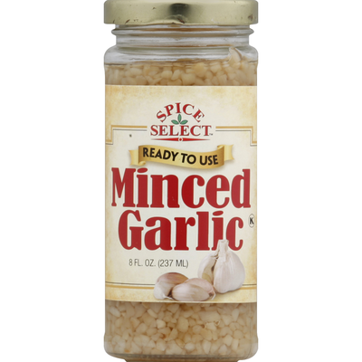 Spice Select Minced Garlic