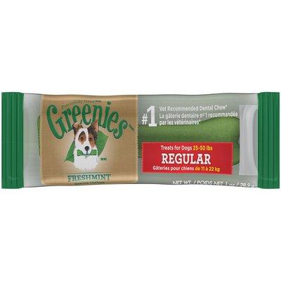 GREENIES Freshmint Regular Dog Treat
