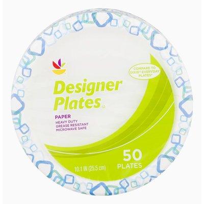 SB Designer Plates Paper - 50 CT