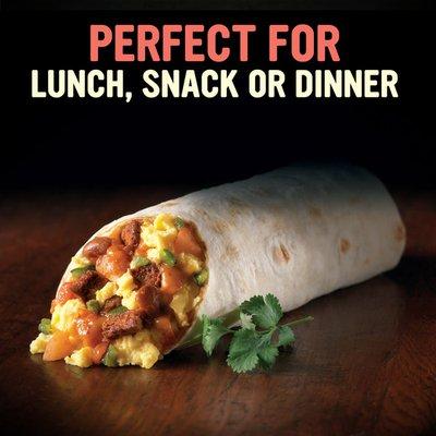 Sweet Earth Baja Breakfast Burrito Frozen Burrito with Plant Based Bacon