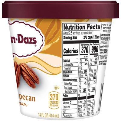 Haagen-Dazs Butter Pecan Ice Cream