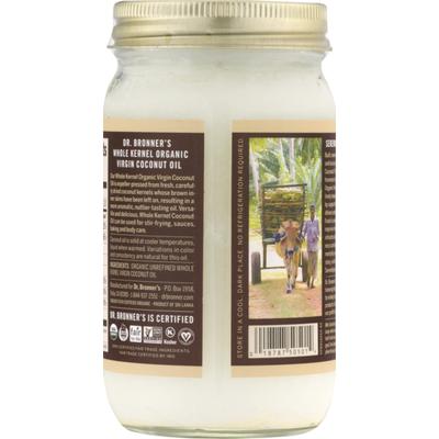 Dr. Bronner's Coconut Oil, Organic Virgin