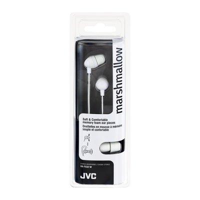 JVC Marshmallow Stereo Headphones White