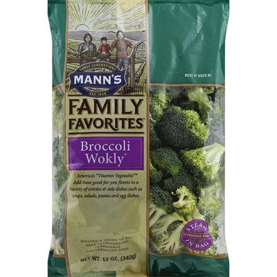 Mann Broccoli Wokly