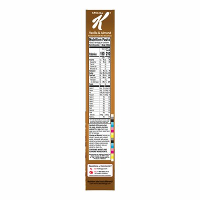 Kellogg's Special K Breakfast Cereal, Vanilla and Almond, Low Fat