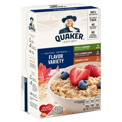 Quaker Instant Oatmeal Variety Pack