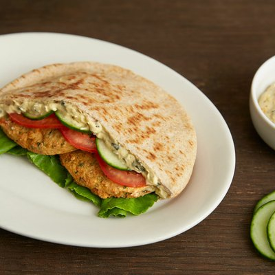 Morning Star Farms Veggie Burgers, Plant Based Protein, Frozen Meal, Mediterranean Chickpea