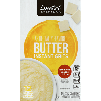 Essential Everyday Grits, Instant, Butter