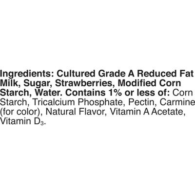 Yoplait Original Yogurt, Strawberry Low Fat Yogurt, 8 Count