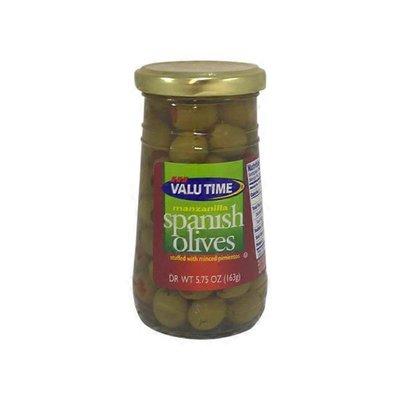 Valu Time Stuffed Thrown Manzanilla Olives