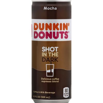 Dunkin' Donuts Coffee & Milk Beverage, Mocha