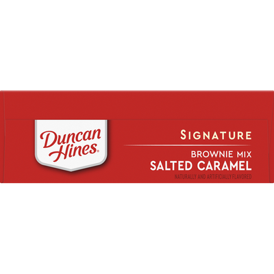 Duncan Hines Brownie Mix, Salted Caramel