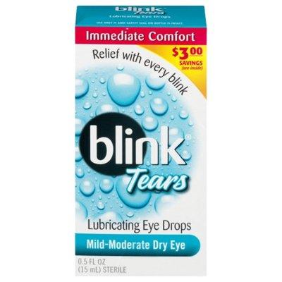 Blink Eye Drops, Lubricating, Mild-Moderate Dry Eye