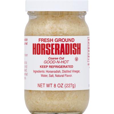 Silver Spring Horseradish, Fresh Ground, Coarse Cut