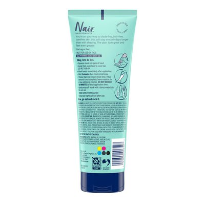 Nair Leg Mask Brighten & Smooth 3-in-1 Hair Remover + Beauty Treatment