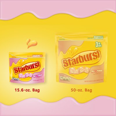 Starburst All Pink Chewy Candy Stand Up Pouch