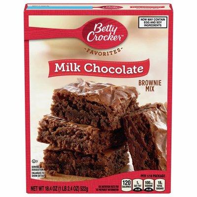 Betty Crocker Brownie Mix, Milk Chocolate