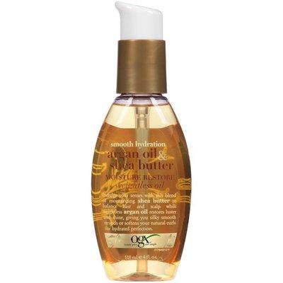 OGX Argan Oil & Shea Butter Smooth Hydration Moisture Restore Weightless Oil Hair Oil