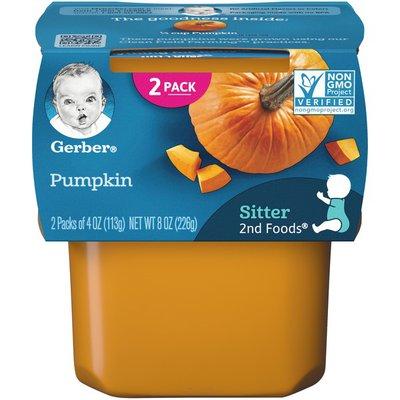 Gerber Pumpkin Baby Food