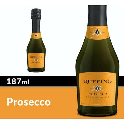 Ruffino Prosecco DOC Italian White Sparkling Wine Mini Bottle