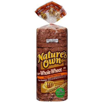 Nature's Own Whole Wheat Bread with Honey