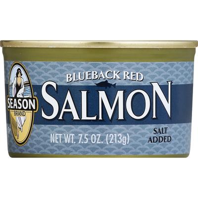 Season Brand Salmon, Blueback Red