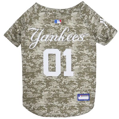 Pet First Small New York Yankees Camo Jersey