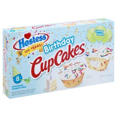 Hostess Birthday CupCakes