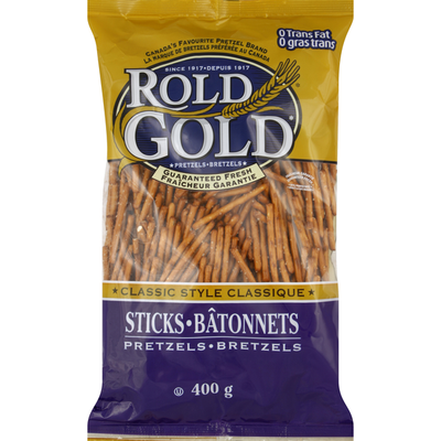 Rold Gold Pretzels, Classic Style, Sticks