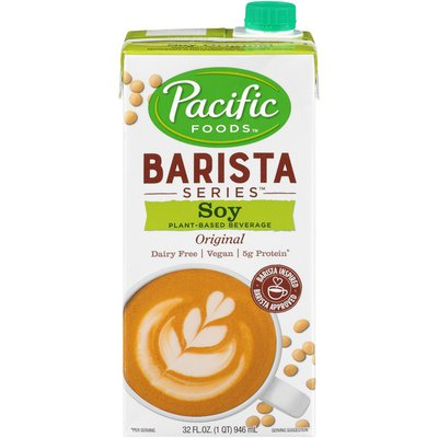 Pacific Foods Barista Series Original Soy Plant Based Beverage
