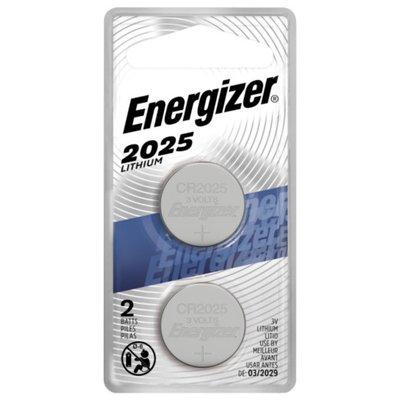 Energizer 2025 Batteries, 3V Lithium Coin Batteries