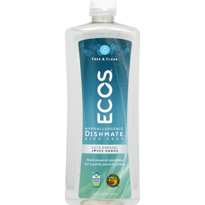 ECOS Dish Soap, Free & Clear