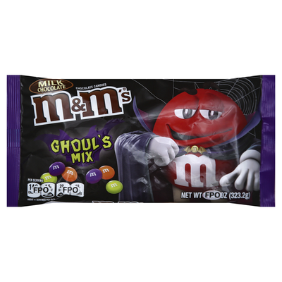 M&M's Chocolate Candies, Milk Chocolate, Ghoul's Mix
