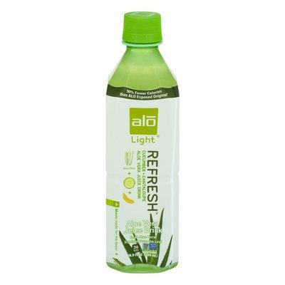 ALO Refresh Light Aloe Vera Juice Drink Cucumber + Cantaloupe