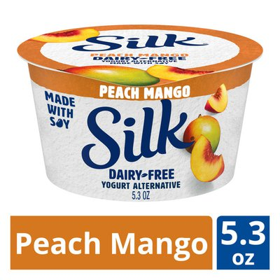 Silk Dairy-Free Peach Mango Yogurt Alternative
