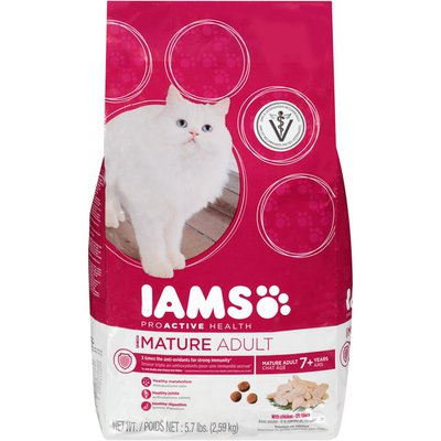 IAMS ProActive Health Mature Adult with Chicken Cat Food