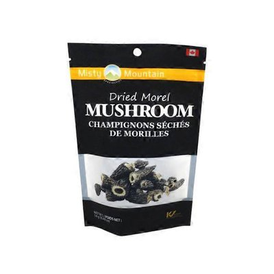 Misty Mountain Dried Morel Mushrooms