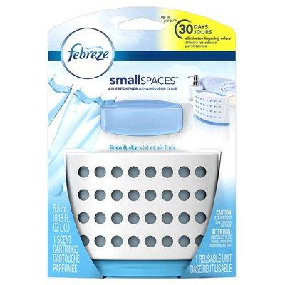 Febreze Small Spaces Linen & Sky Starter Kit Air Freshener
